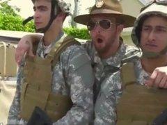 Elijah gay army men having sex porn group exam hot male penis