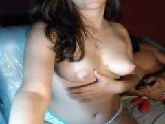 Beautiful Teen love flash your boobs