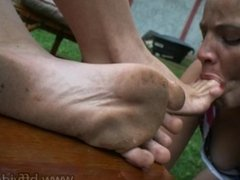 Beautiful Lesbian Dirty Feet Worshipping, licking filthy soles