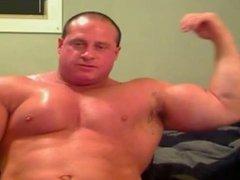 Bodybuilder Web Cam Show