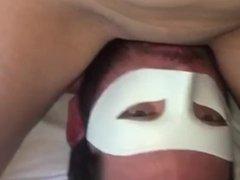 Verified amateur, gf sits on my face till she cums
