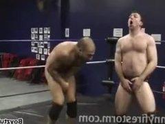 ball busting wrestle