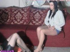 Tickling italian girl