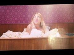 Sexy blonde fucks german music industry