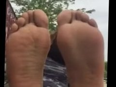 Aisha's stinky socks/soles