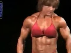 Hellen bouchard perfect body on stage.