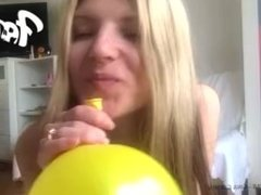 Gina Gerson ( 1st skit video ) Title: When Models Blow