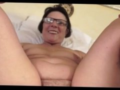 Hot Granny gets freaky with a big cock