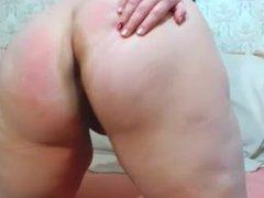 big ass in oil. much oil