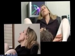 Mature blonde boss woman: hottest EPIC reaction to having her pussy licked!