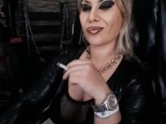 Mistress Smoking MILF