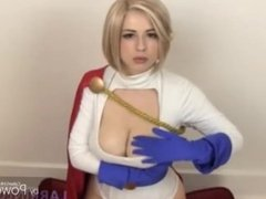 Power Girl (Teasing Titfuck edit)