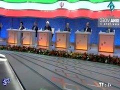 President Rouhani Bangs Ghalibaf And Raeisi In The National TV