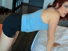 Son And Mom Yoga Lesson