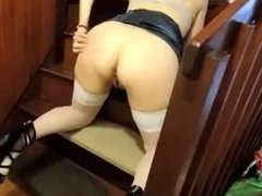 horny mature makes her black stud cum twice while hubby looks on