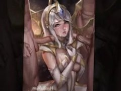 League of Legends Lux Hentai Slideshow