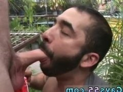 Jake's old men jacking off outdoors with young gay in this week's