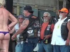 Hot Coed Hot Body Contest at Abate Iowa Biker Rally 2013