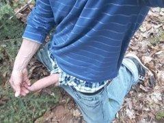 Jerk off in the wood #3 (13-05-17)