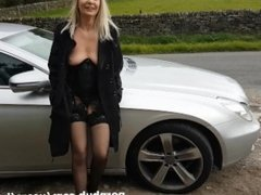 Flashing & Cocksucking On An Afternoon Drive In The Country