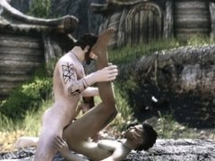 Initiation ritual to be a member of the Orc tribe (Skyrim)