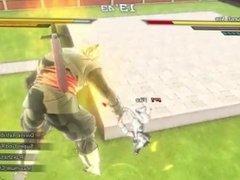 Alien Shortstack Brutally Fisted by Big Black Saiyan!
