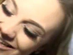 Maria Jade getting fucked by huge white dick bradknight