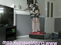 face trample, bbw face trample, face stomping, face stomp,bbw face stomping