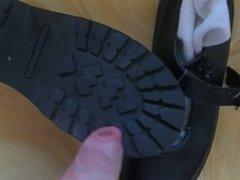 cum on daughters school shoes