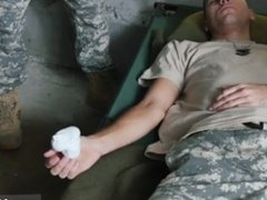 Cole's masturbation military showers gay good anal training