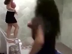 Hard trample and jumping