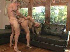 Fuckswipe.com - Sexy & busty Devon Lee gets that cumshot on her pussy