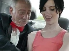 Melanie-old man home and young shower she a torrid