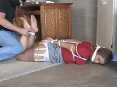 Milf Tied up and gagged
