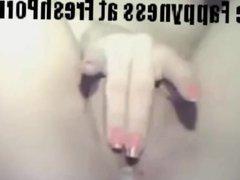 Awesome amateur teen slut fingering at webcam - FreshPorn.us