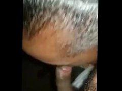 Jamaican girl singing and suckling my dick