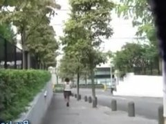 Publicly pissing asians