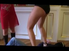 German girls boots and shoes trampling & humilation 2