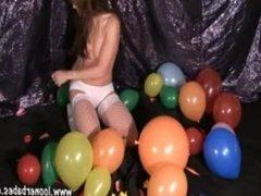 Angelique Le Clair balloon pin pop