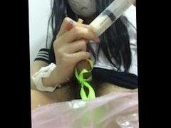 猫伪娘 牛奶`MILK~URETHRA PLAY~~