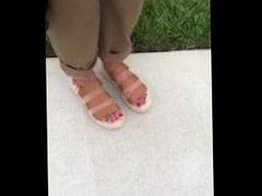 She gave me a footjob after :)