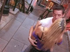 Amateur Couple in Quebec City Public Fuck