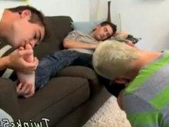 Austins cute boy cums on his feet and slim boys sleeping worship