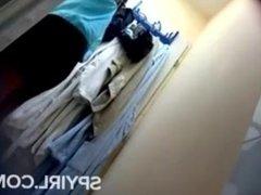 Tan Line Teen Exposed On Hidden Cam