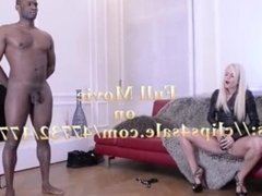 Candee Licious first movie for a new fetichist high heels angel!