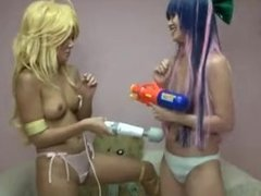 panty and stocking cosplay 2