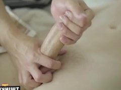 Russian twinks bareback and facial cum