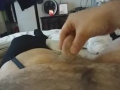 getting my cock hard for my girl to fuck