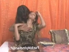 Hot Indian Lesbian Girls Sucking Each Other Milky Boob Shaved Pussy