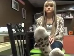 Kelsey's Aesthetic Feet at Work